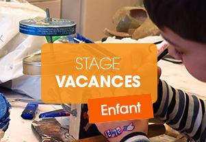 STAGE ENFANT – Fabrication d'instruments de musique