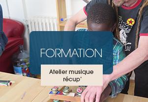 FORMATION – Réemploi musical de déchets et pédagogie