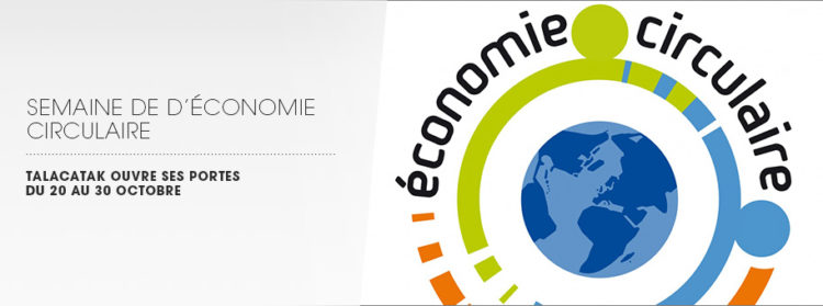 talacatak à la semaine de l'économie circulaire
